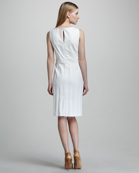 Hilary Barrel Chain Shift Dress