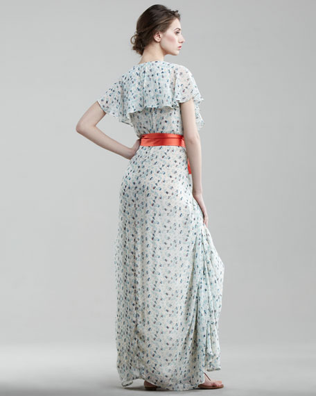 Mista Ruffled Maxi Dress