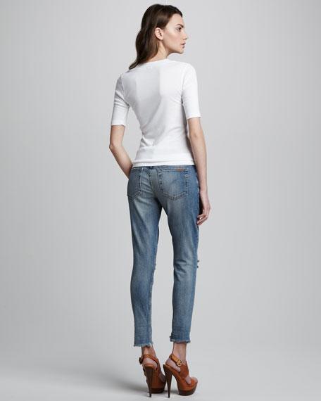 Easy Fit Deedi Cropped Jeans
