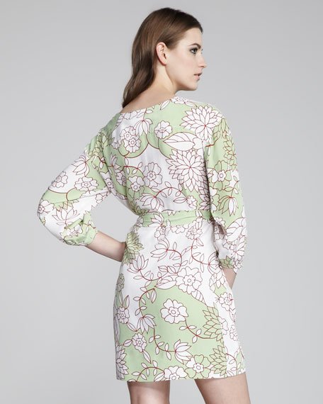 Julieta Printed Shirtdress