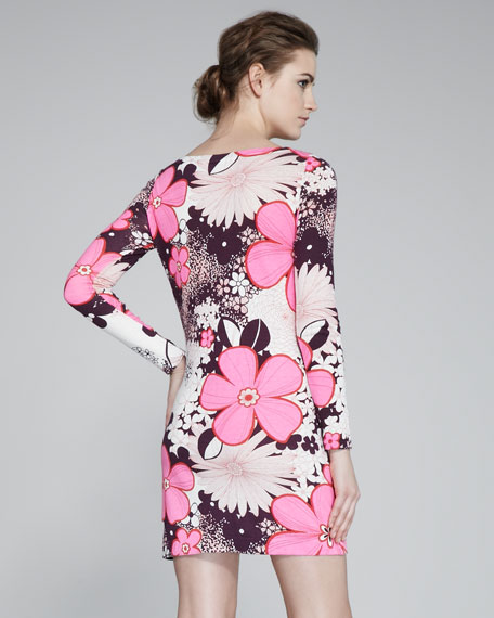 Kivel Floral-Print Dress