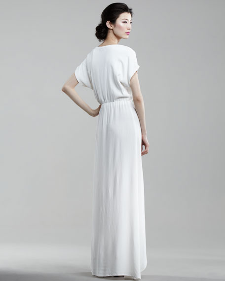 Rosemary Ruffled Maxi Dress