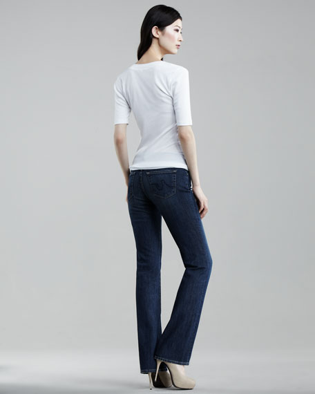 Jessie Muse Curvy Boot-Cut Jeans
