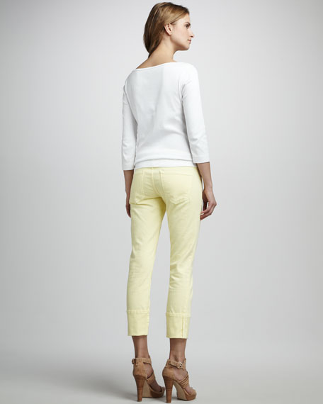 The Beatnik Faded Daffodil Jeans