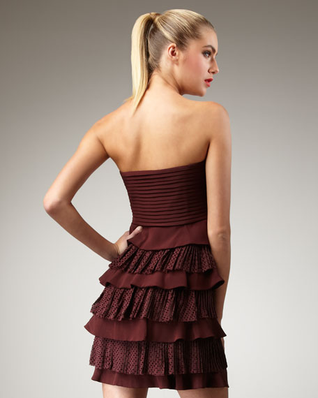 Simona Silk Dress