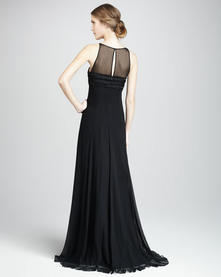 Veronica Illusion Gown