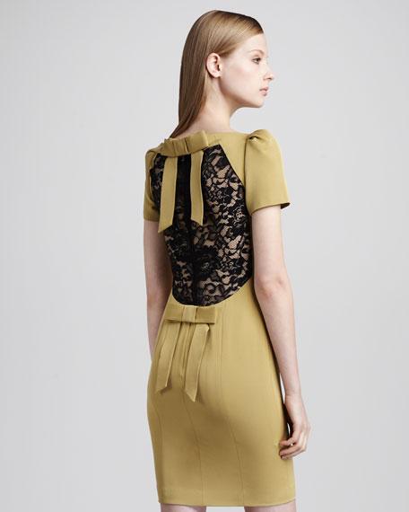 Angela Lace-Back Dress