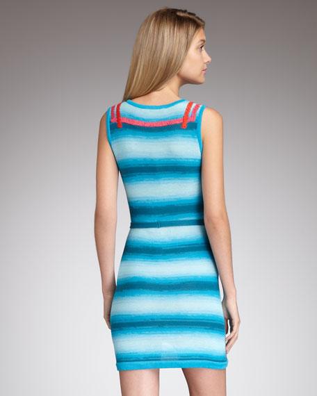 Ranchera Striped Dress