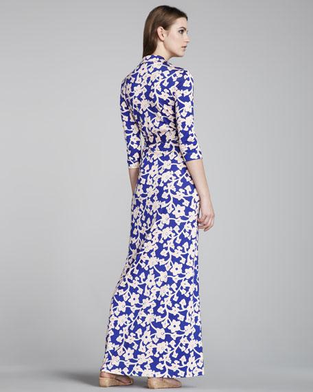 Abigail Maxi Wrap Dress