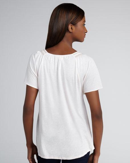 Aven Short-Sleeve Top