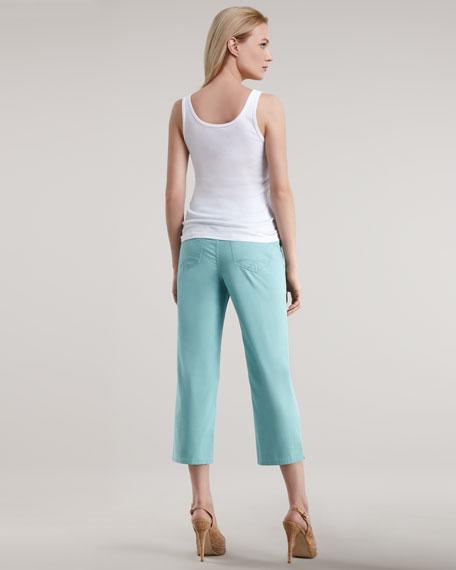 Juju Cropped Twill Pants