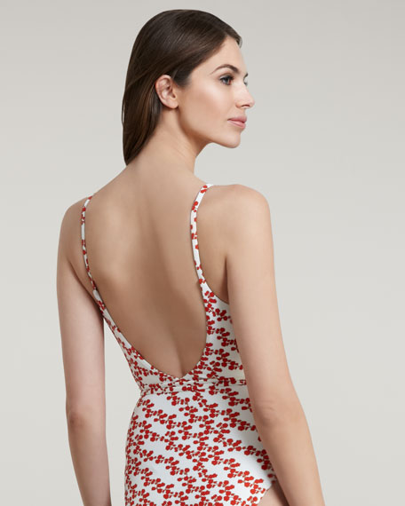 Chike Wrap-Front One-Piece