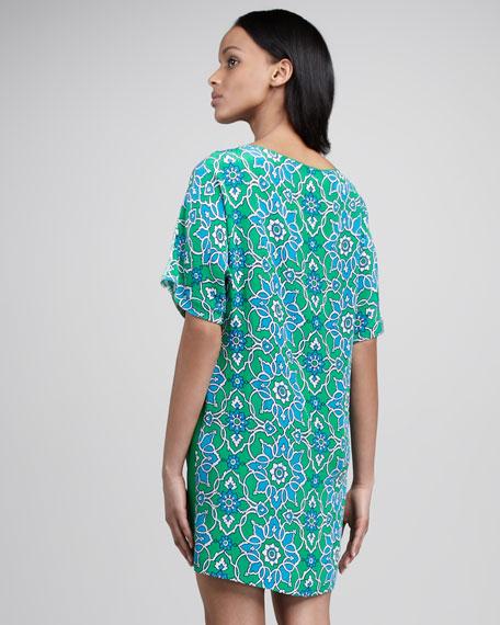 Two-Print Dress