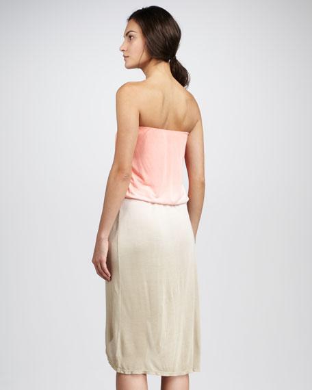 Sammy Strapless Ombre Dress