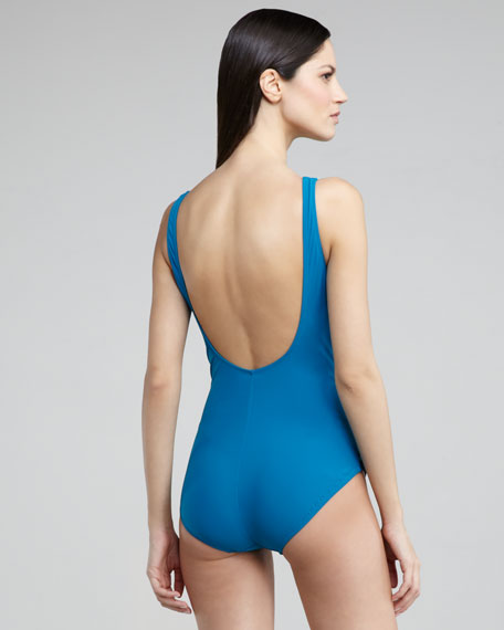 Ombre Goddess One-Piece Swimsuit