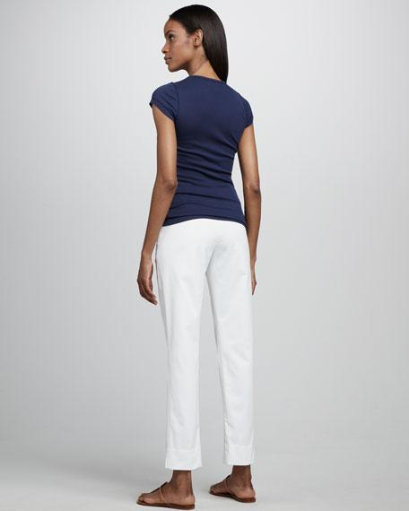 Steffany Side-Zip Pants