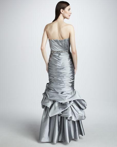 Taffeta Mermaid Gown