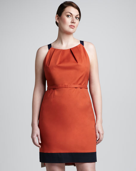 Corinna Colorblock Dress, Women's
