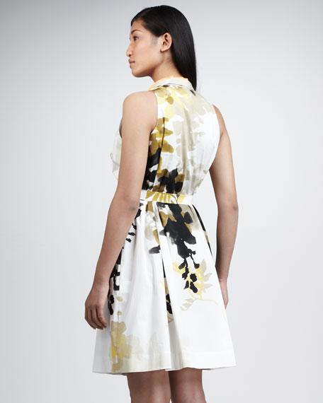 Sutton Printed Twill Dress, Women's