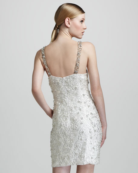 Fully Beaded Cocktail Dress