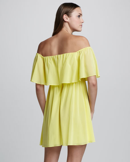 Shari Off-The-Shoulder Dress