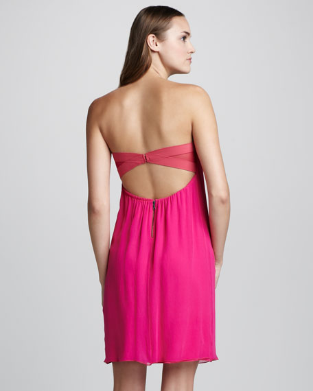 Jocelyn Strapless Chiffon Dress