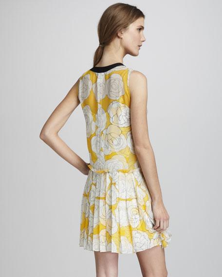 Floral-Print Dress
