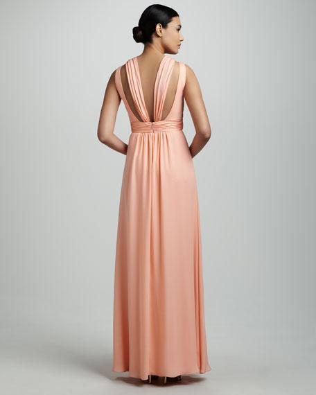 Cutout Detail Gown