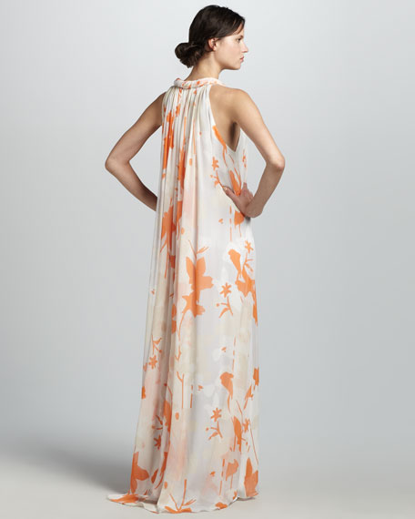Mirina Printed Maxi Dress