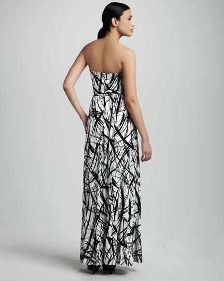 Talmadge Strapless Maxi Dress, Women's
