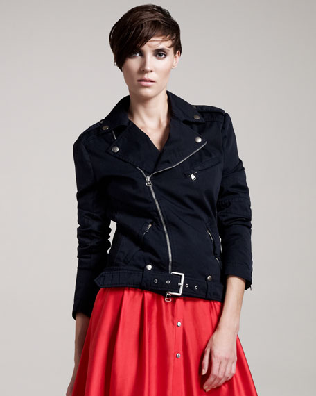 Cotton Moto Jacket