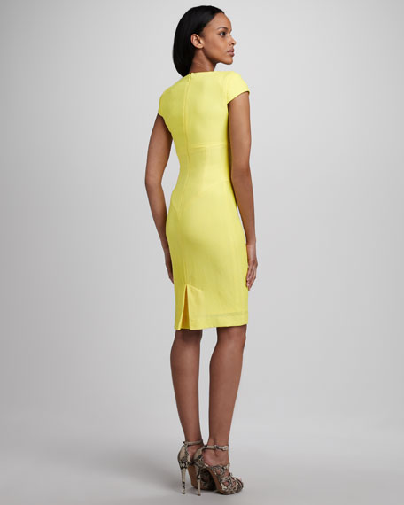Gretchen Cowl-Neck Dress