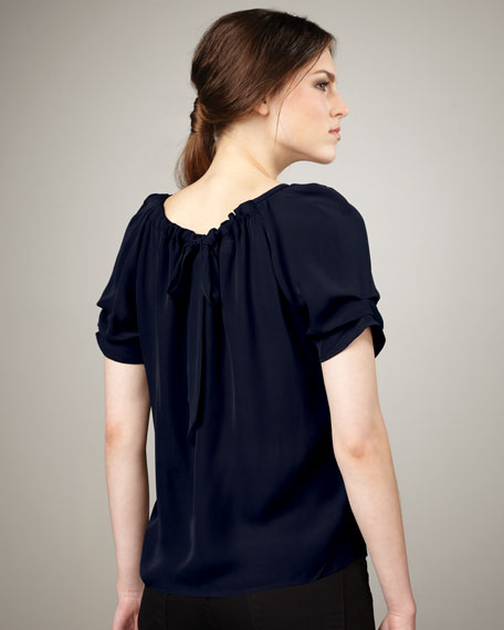 Eleanor Silk Blouse