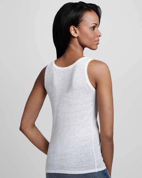 Scoop-Neck Soft Touch Tank