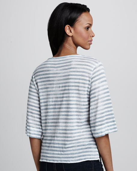 Striped Soft Touch Tee
