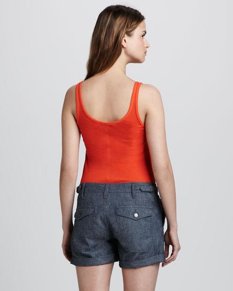 Cotton Cargo Shorts