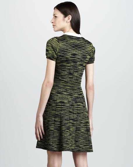 Space-Dye Swingy Dress