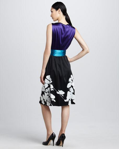 Portia Floral-Print Dress