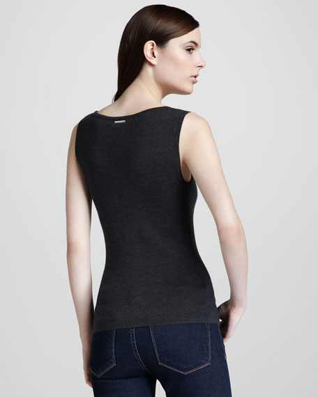 Super Cashmere Shell, Charcoal