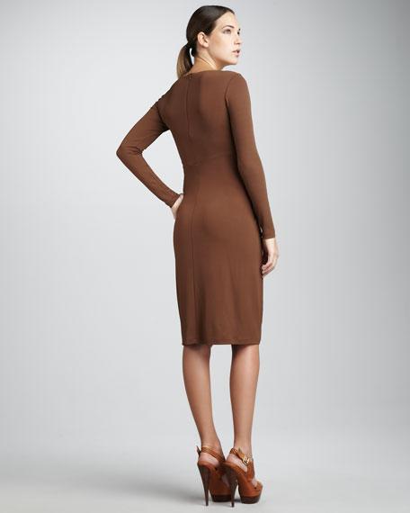 Long-Sleeve Starlet Dress