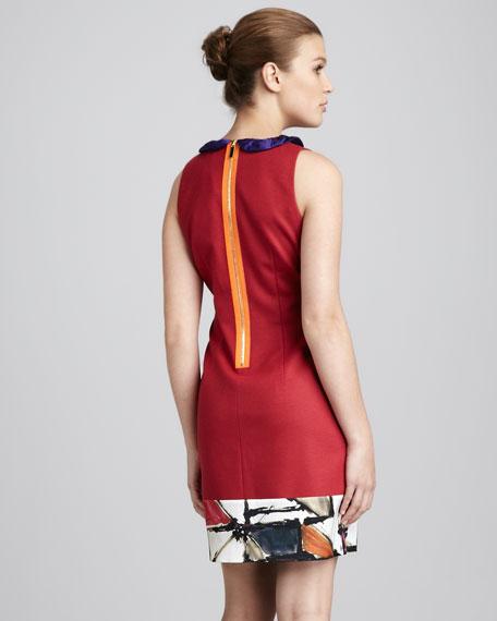 Three-Tone Dress