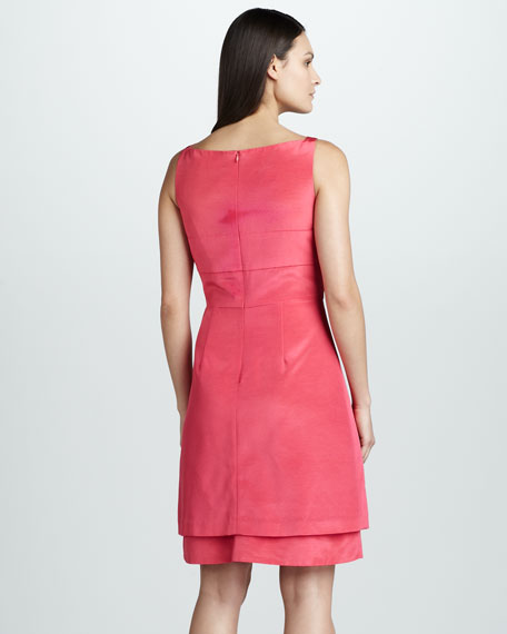 Fold-Front Dress