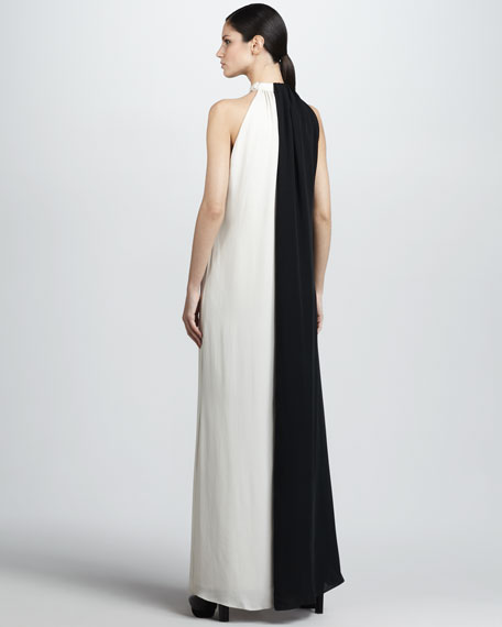 Diana Two-Tone Gown