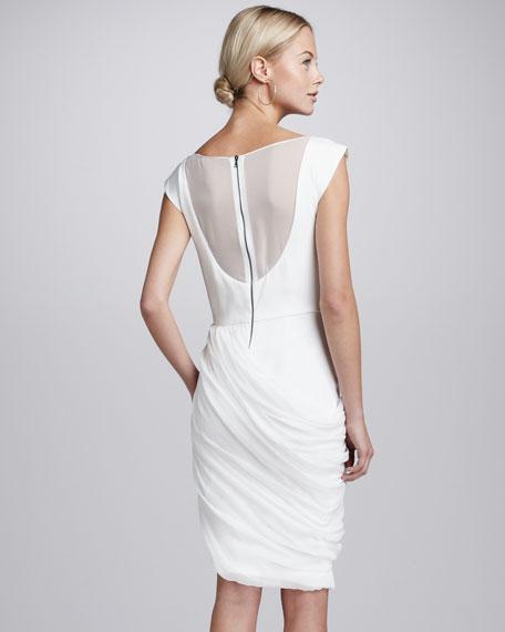 Lexie Drape-Skirt Dress