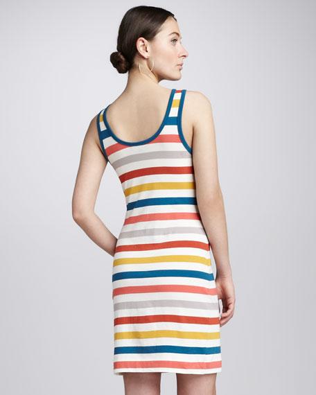 Summer Striped Tank Dress