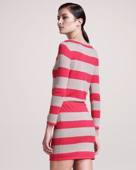 Las Palmas Striped Dress