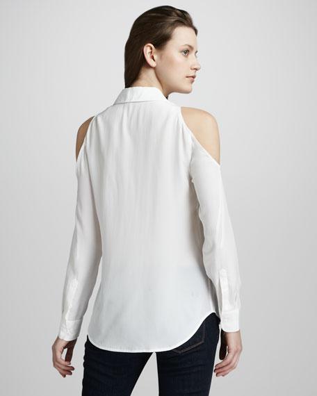 Nixie Cold-Shoulder Blouse