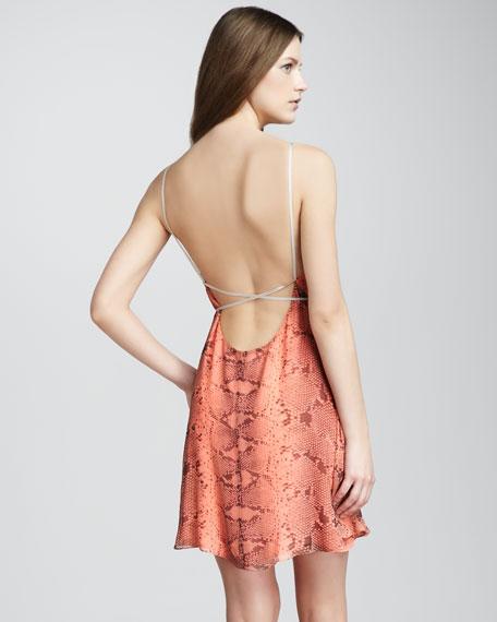 Joel Snake-Print Dress