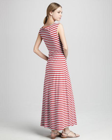 Leon Cross-Neck Maxi Dress