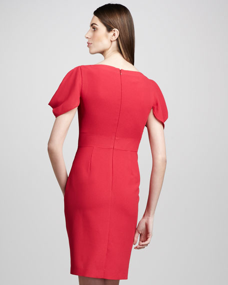 Side-Drape Dress